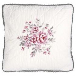 Housse de coussin - Greengate - Flora white - 40 x 40
