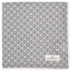 Serviette de table - Greengate - dentelle Jasmina warm grey