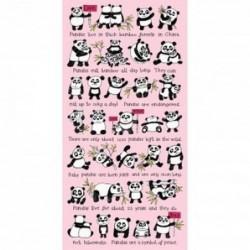 Serviette de bain - Panda - Tyrell Katz