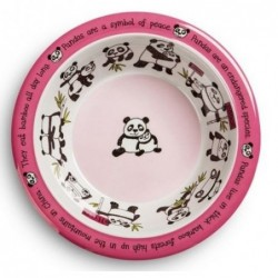 Assiette creuse en mélamine - Pandas - Tyrell Katz
