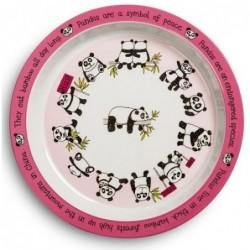 Assiette en mélamine - Pandas - Tyrrell Katz