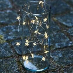 Guirlande lumineuse LED - Sirius - Trille - Petites étoiles - Argent - 20L