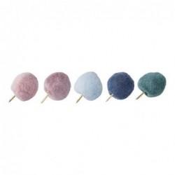 Lot de 10 punaises - Bloomingville - Multicolore
