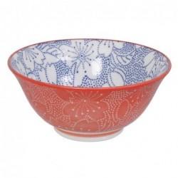 Bol Tayo - Tokyo Design - Sakua blue red
