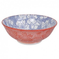 Bol à nouilles - Tokyo Design - Sakura blue red