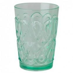 Verre à eau - Rice - Acrylique - Vert
