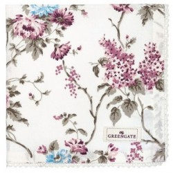 Serviette de table - Greengate - Maude white