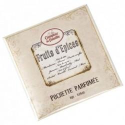 Pochette parfumée - Comptoir de Famille - Fruits d'épices