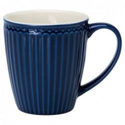 Mug - Greengate - Alice dark blue