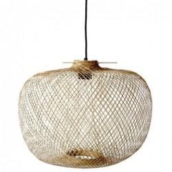 Lampe suspension - Bloomingville - Nature Bambou
