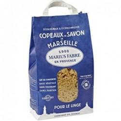 Sac copeaux de savon de Marseille - Marius Fabre - 980 g