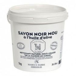 Savon noir mou  - Marius Fabre - 1 Kg