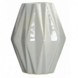 Vase géométrique - House Doctor - Gris