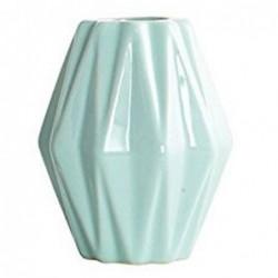 Vase géométrique - House Doctor - Vert