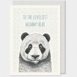 Carte postale - Animals -  East of India - Panda