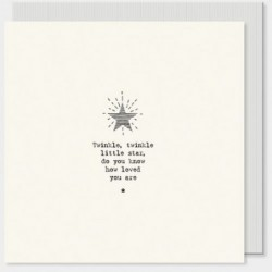 Carte postale carrée - East of India - Twinkle