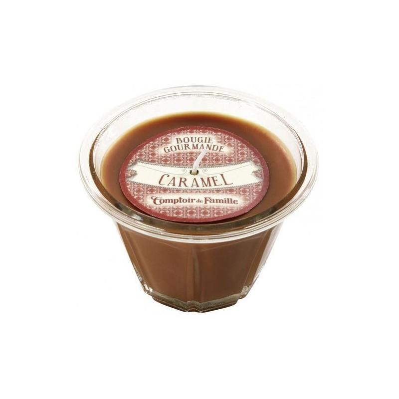 Bougie parfumée - Caramel - Comptoir de Famille