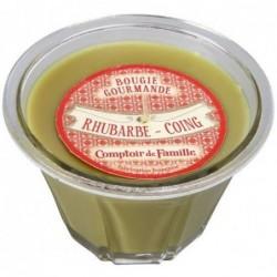 Bougie parfumée - Rhubarbe Coing - Comptoir de Famille