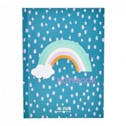 Petit Carnet A6 - Rice - Rainbow