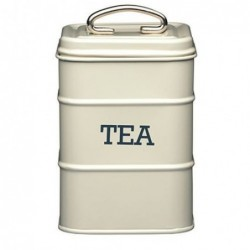 Boite à thé crème antique - Living Nostalgia - Kitchen Craft