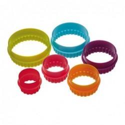 Lot de 6 Emporte-pièces - Cercles