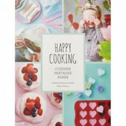 Livre Happy Cooking - Cuisinier Partager Aimer - Charlotte Hedeman Gueniau