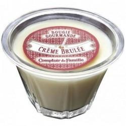 Bougie parfumée - Crème brûlée - Comptoir de Famille