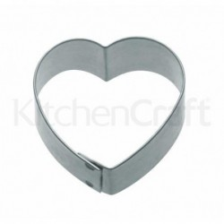 Emporte-pièce - Coeur - 5 cm - metal