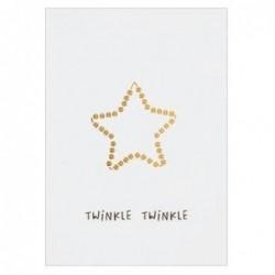 Carte de Noel -  Twinkle Twinkle- Rader
