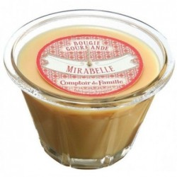 Bougie parfumée - tarte Mirabelle - Comptoir de Famille