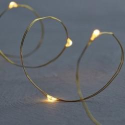 Guirlande lumineuse LED - Sirius - Knirke - 20L - Gold
