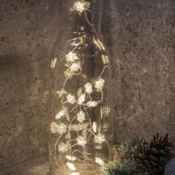 Guirlande lumineuse LED - Sirius - Nynne - Flocon - 20 LED - Silver
