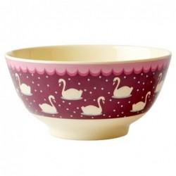 Bol Mélamine - Rice - Swan bordeaux