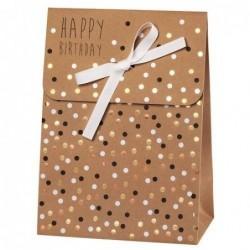 Pochette cadeau - Happy Birthday - Rader - Pois
