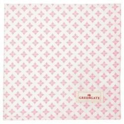 Serviette de table - Greengate - Sasha pale pink