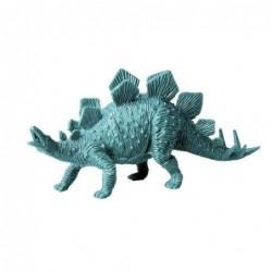 Figurine dinosaure en plastique - Rice - Stégosaure - Sarcelle