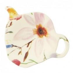 Coupelle à sachet de thé - Mélamine Rice - Selmas flower