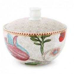 Pot à cotons- Spring to life - Pip Studio - crème