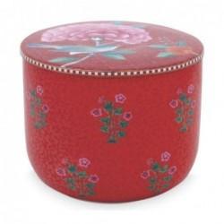 Pot à cotons - Good morning - Pip Studio - Rouge