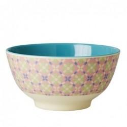 Bol Mélamine - Rice - Flower Tile