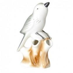 Oiseau décoratif - Rice - porcelaine - chanteur