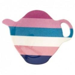 Coupelle à sachet de thé - Mélamine Rice - Stripe