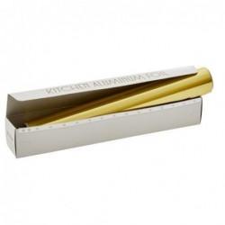 Papier aluminium 10m - Rice - Or
