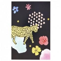 Carte postale - Rice - Léopard