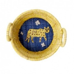 Mini corbeille - Rice - Léopard