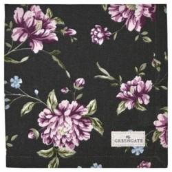 Serviette de table - Greengate - Penelope dark grey