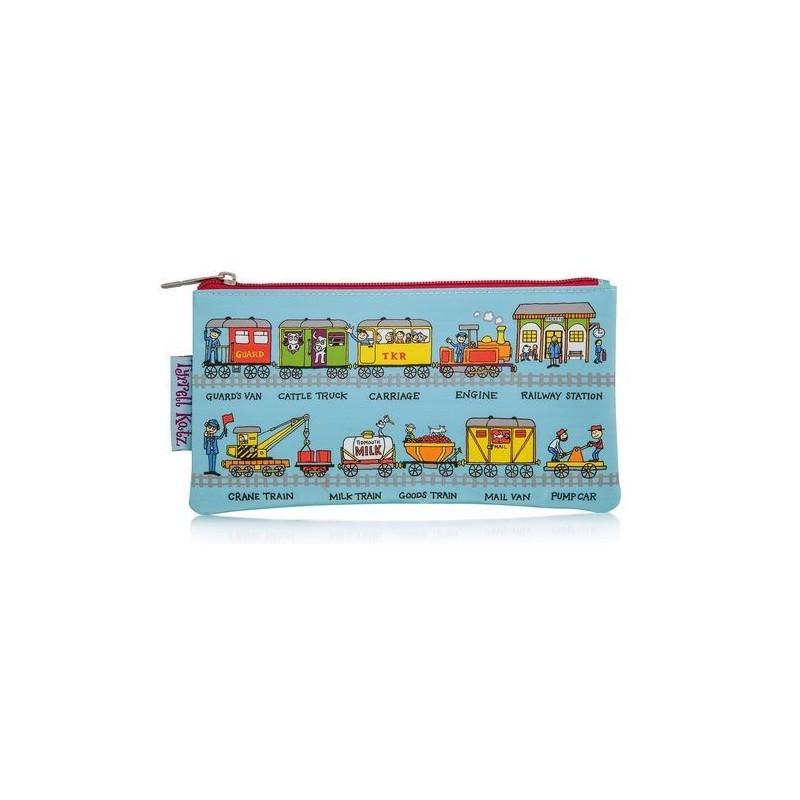 Trousse à crayons - Trains - Tyrrell Katz