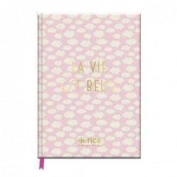 Cahier A5 - Rice - La vie est belle