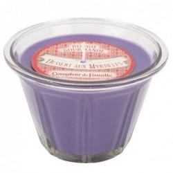 Bougie parfumée - Dessert aux myrtilles - Comptoir de Famille