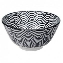 Bol à riz - Tokyo Design - Nippon Black - Wave